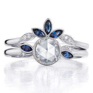 Kirk Kara Dahlia diamond engagement set
