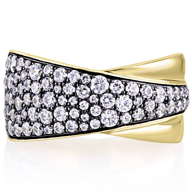 A Jaffe Starry Night diamond ring