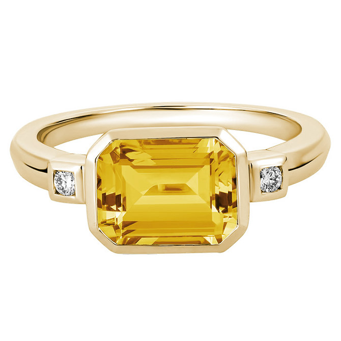 Artistry Ltd. Dolce collection citrine ring