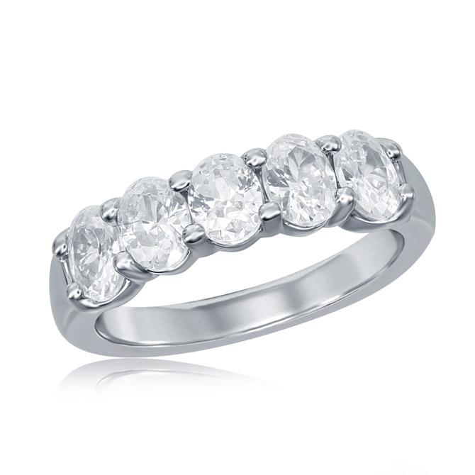Imagine Bridal oval diamond ring
