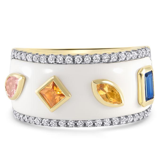 Ayva Nova collection Rock ring