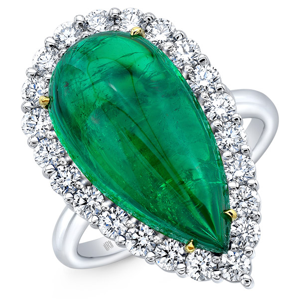Rahaminov emerald ring