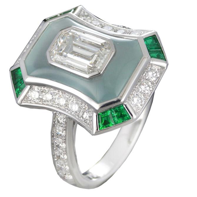 Gamma Creations aquamarine ring