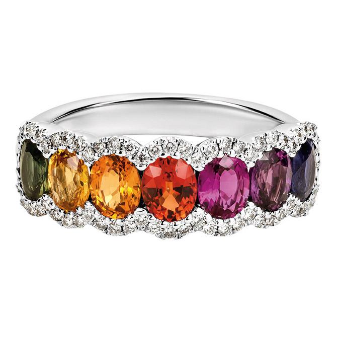 Artistry, Ltd. multicolor gemstone ring