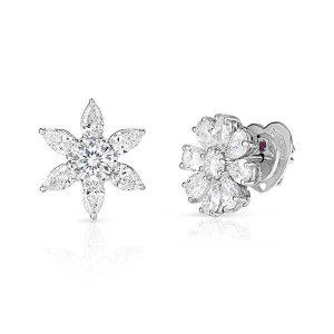 Roberto Coin Dahlia diamond studs