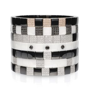 Roberto Demeglio Scacco Collection bracelet stack