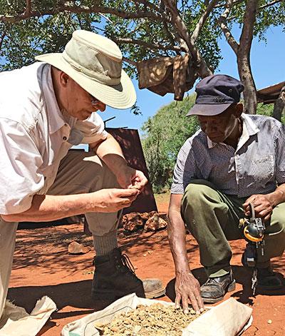 Roger Dery in Kenya