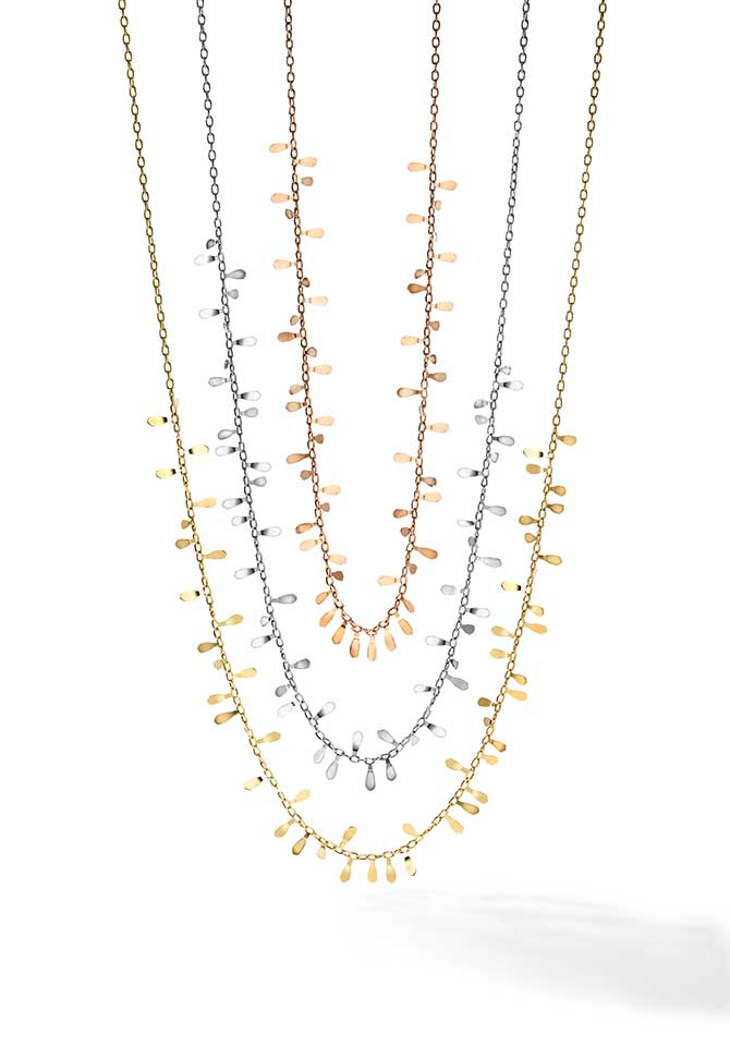 Royal Chain flora necklaces