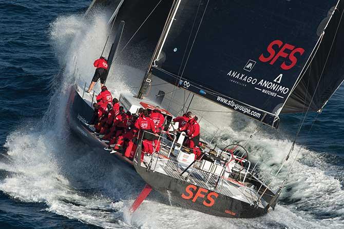 Sea Tim Anonimo sailing scene