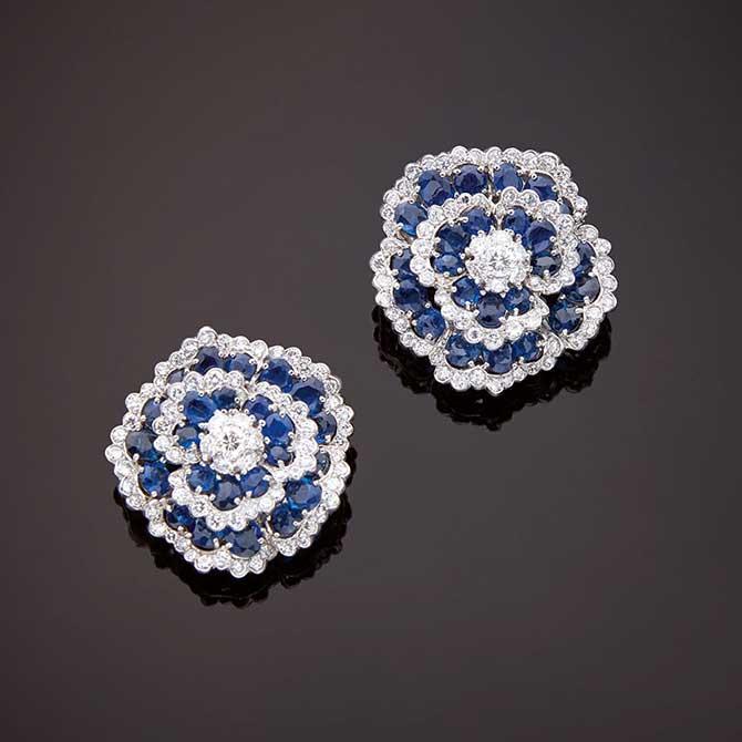 Van Cleef Arpels Camellia earrings