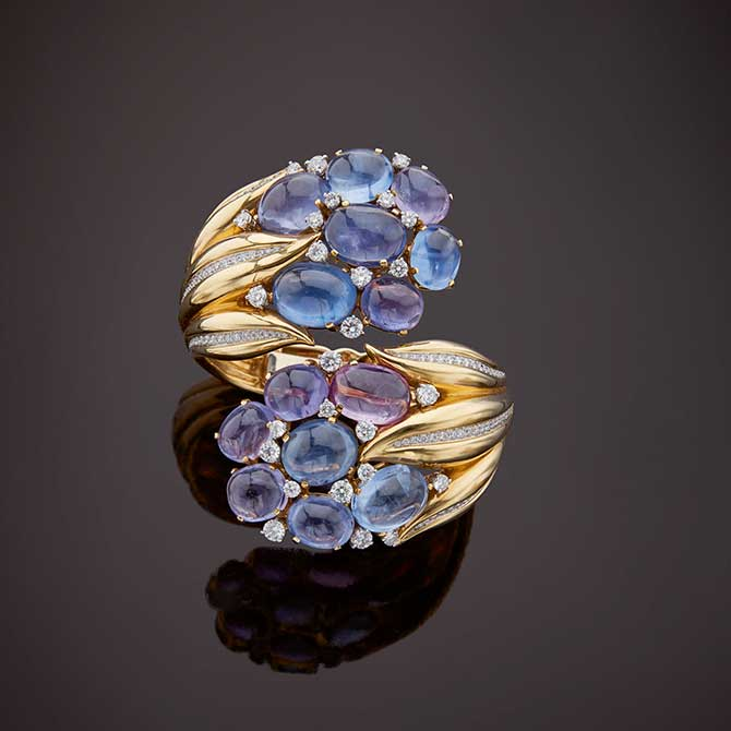 Verdura Hyacinth bracelet