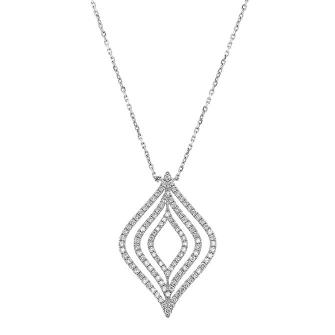 Yael Designs diamond statement pendant