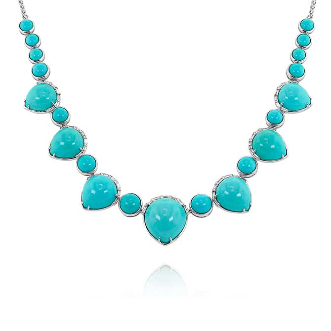 Yael Designs turquoise necklace