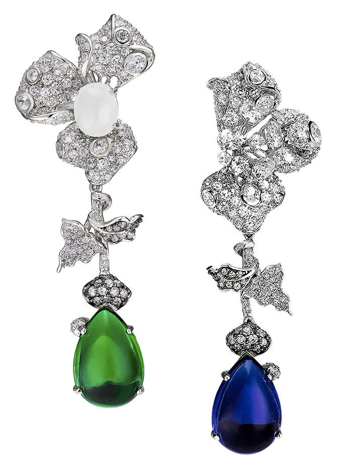 anabela chan orchid earrings