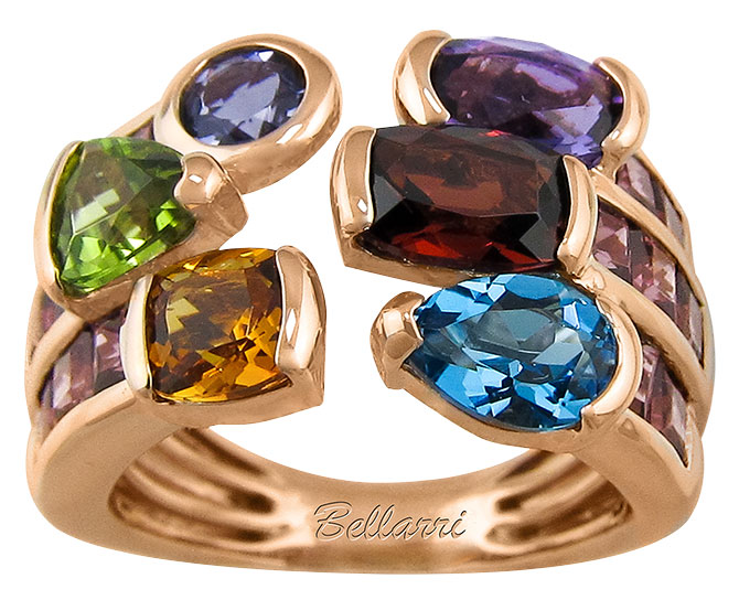 bellarri capri gemstone ring