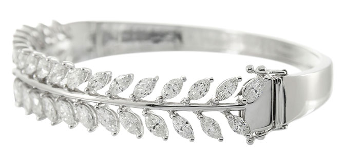 cirari diamond leaf bracelet