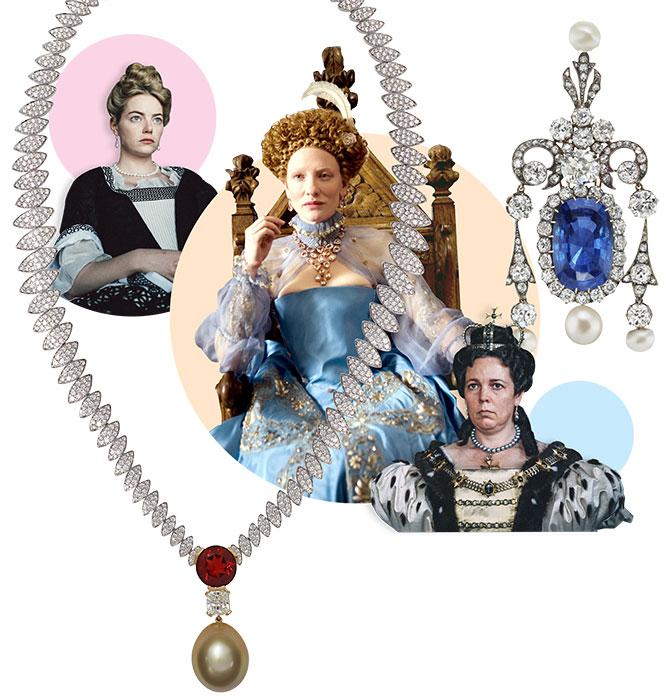elizabethan pearls on film
