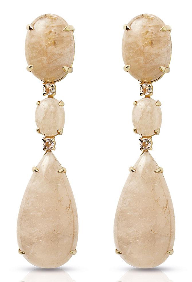 evanueva morganite earrings