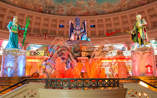 fall of atlantis show forum shops