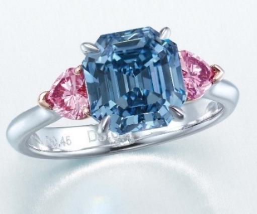 fancy vivid blue