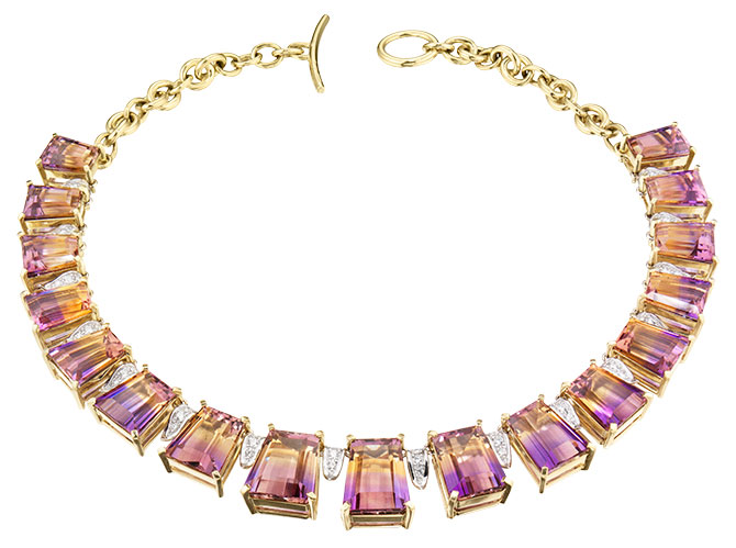faraone menella ametrine necklace