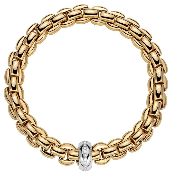 fope anniversario gold bracelet