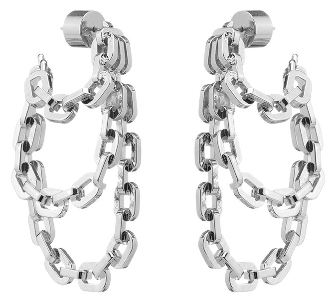 jennifer fisher chain link hoops