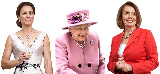 kate middleton queen elizabeth nancy pelosi