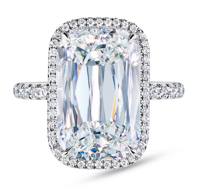 kwiat ashoka cut diamond ring