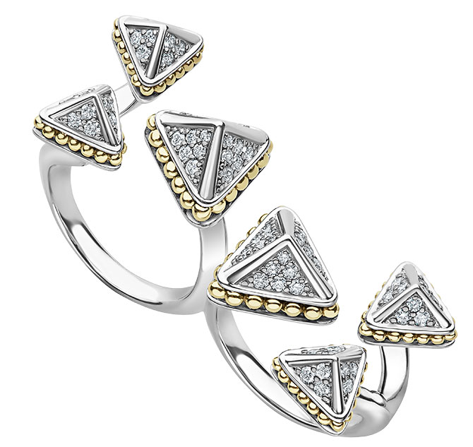 lagos KSL diamond double ring