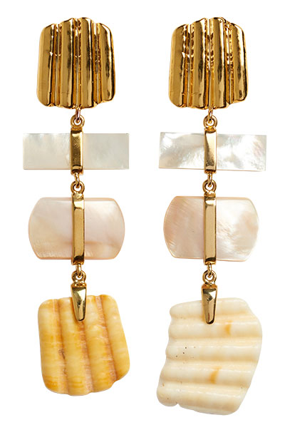 lizzie fortunato botticelli earrings
