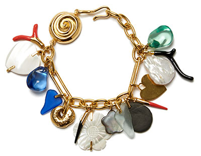 lizzie fortunato treasure chest charm bracelet
