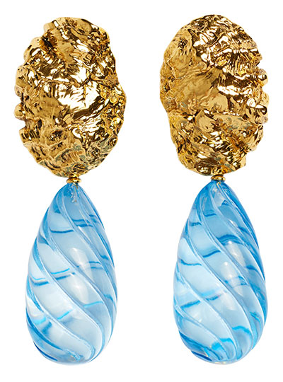 lizzie fortunato whirlpool earrings