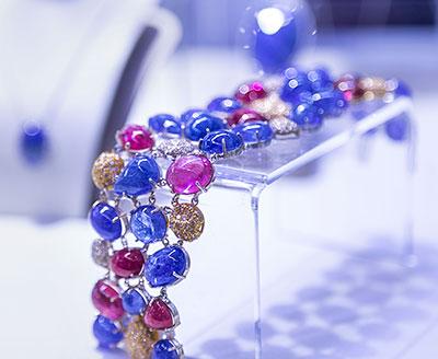 luxury tanzanite bracelet
