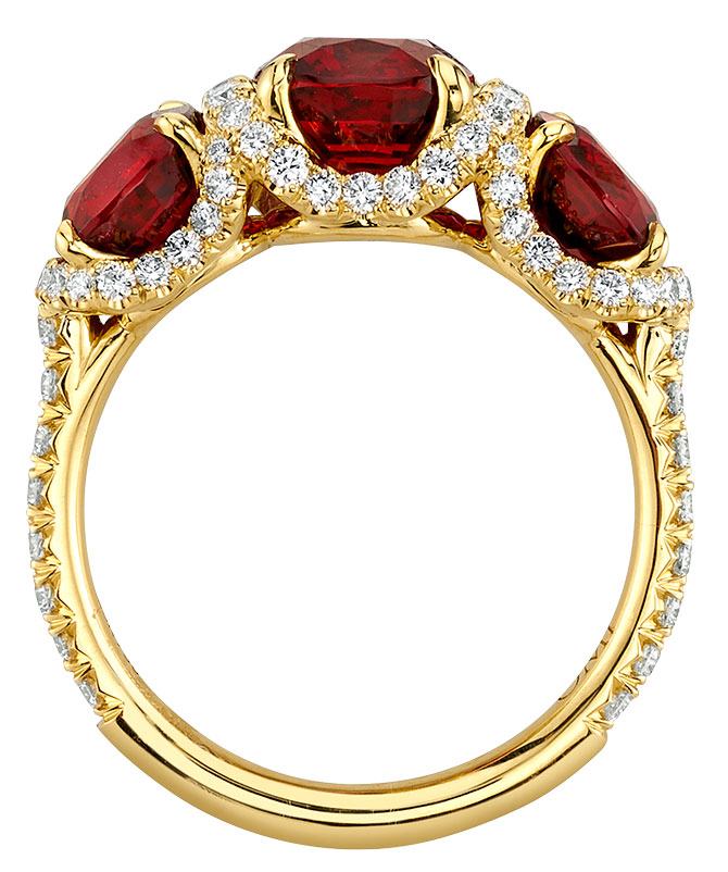 omi prive red spinel ring