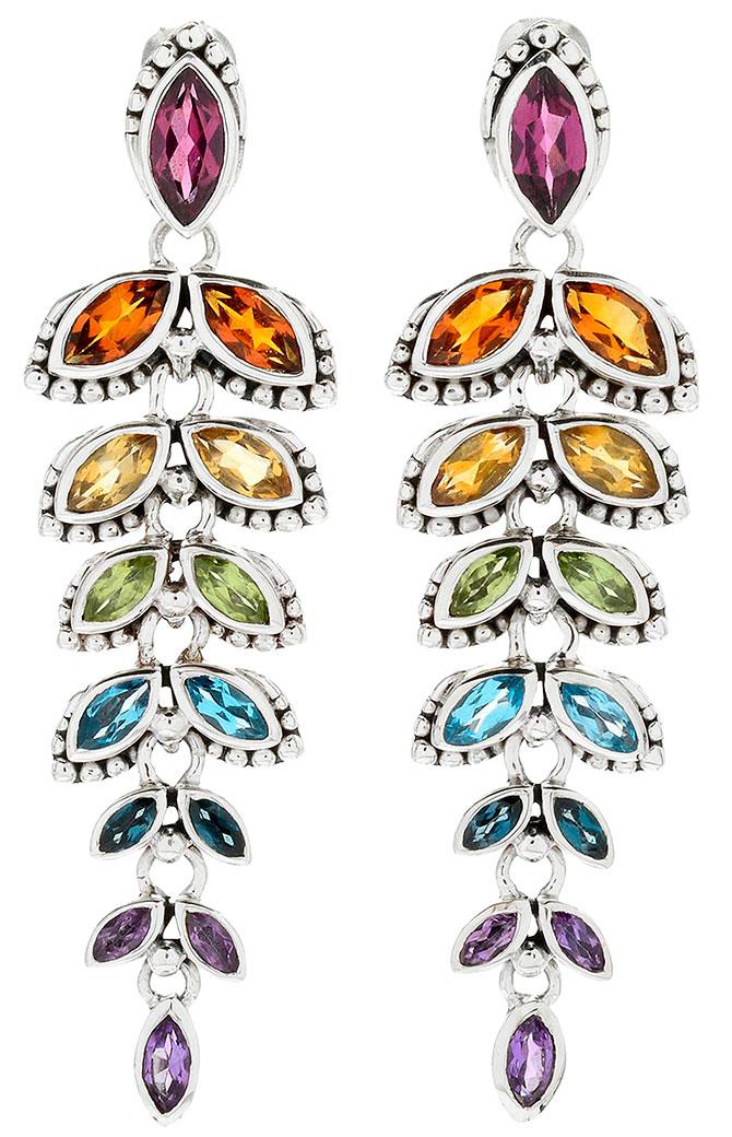 samuel b multicolor earrings