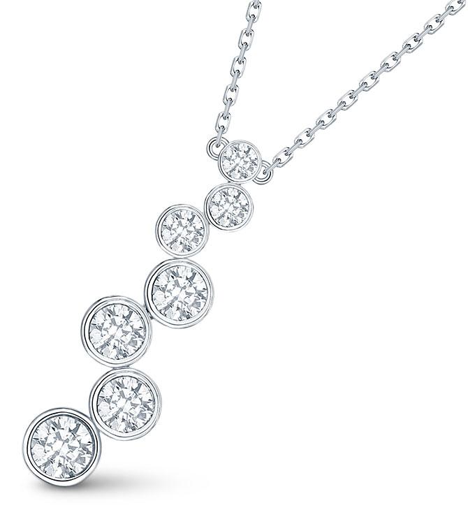 smiling rocks bubble necklace