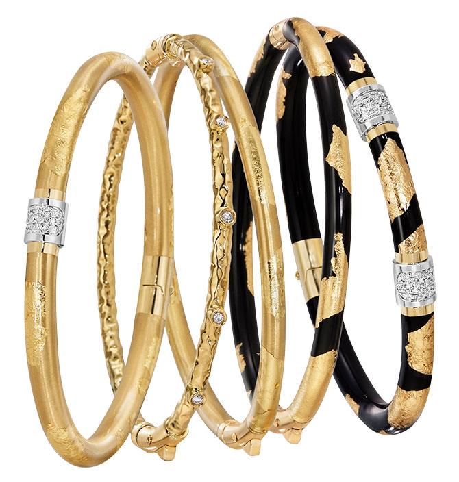 soho jewelry enamel bangles