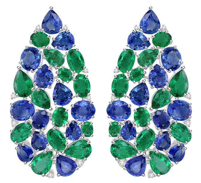 sutra sapphire emerald earrings