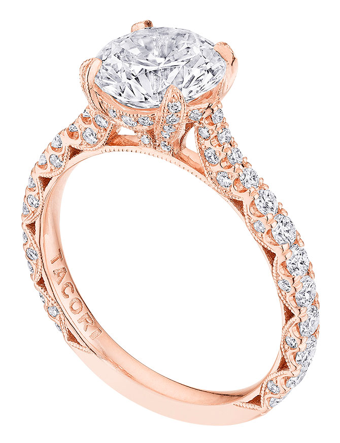 tacori royal T engagement ring