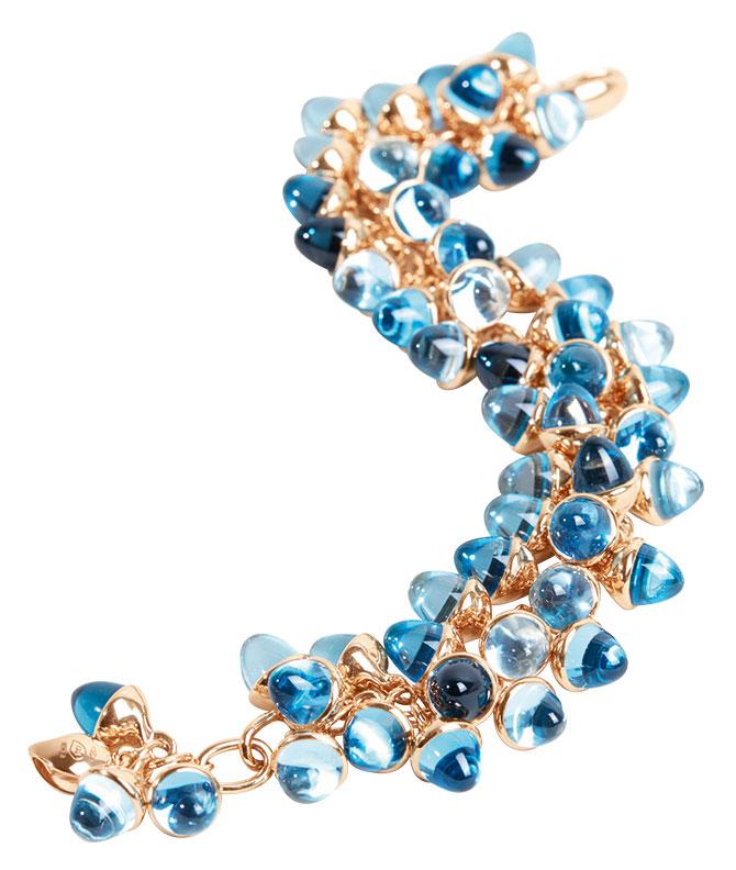 tamara comolli blue confetti bracelet