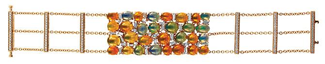 yael opal bracelet