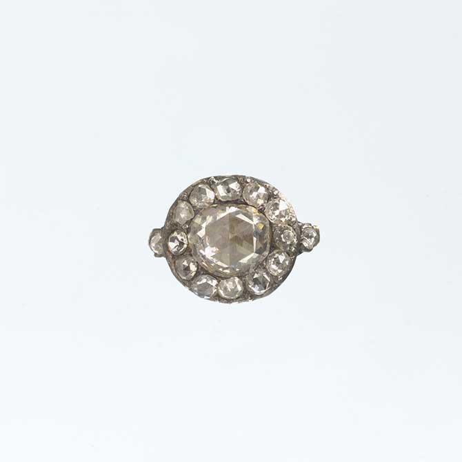 18th century diamond ring