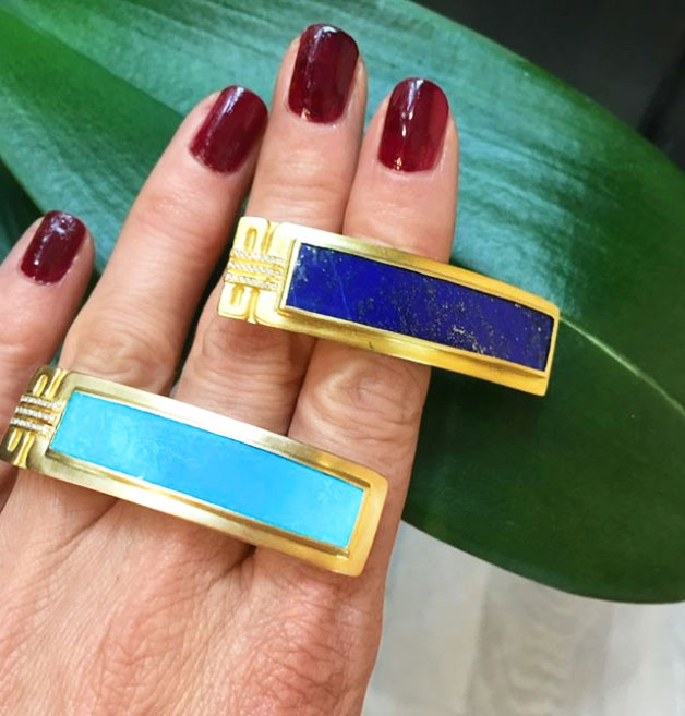 @thejewelleryed azza fahmy rings