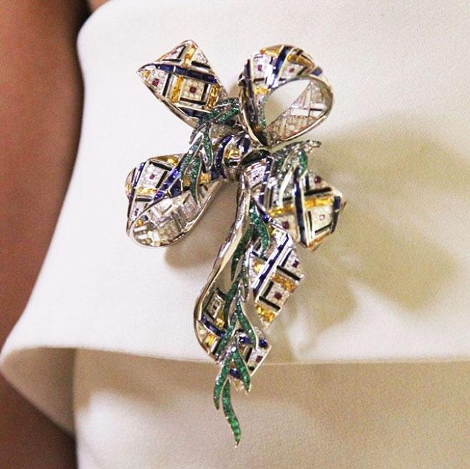 @thejewelleryed chaumet brooch