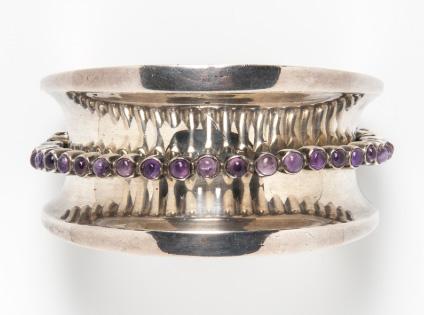 Antonio Pineda amethyst bracelet
