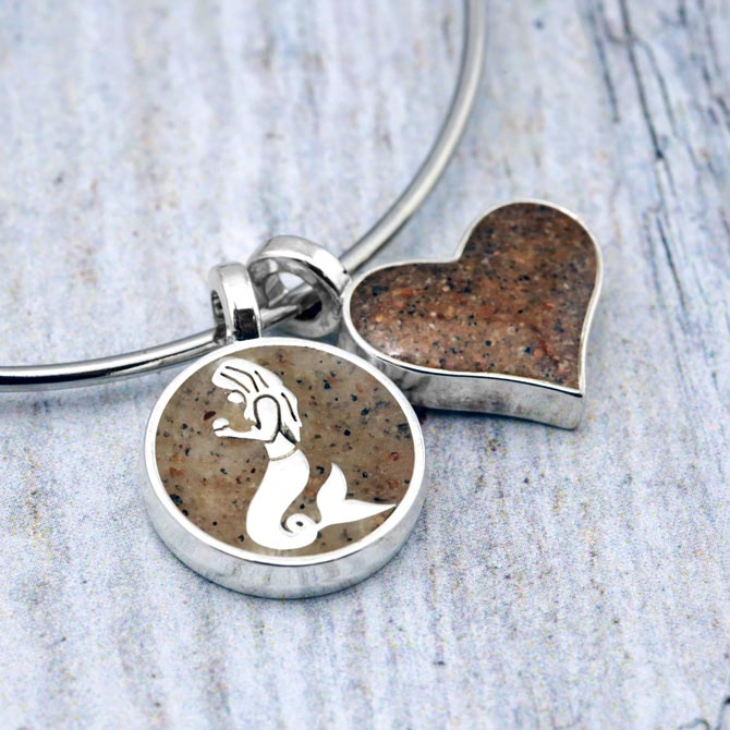 Dune Jewelry mermaid charm bracelet