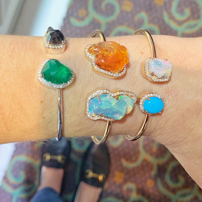 Yael Designs Toi and Moi collection bracelets