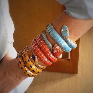 Bulgari Serpenti bracelets