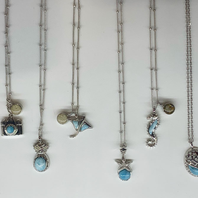 Dune Jewelry larimar collection